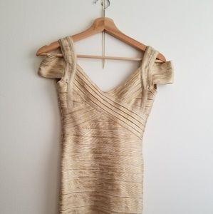 Beautiful  bandage bebe dress